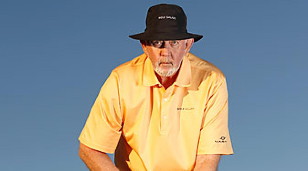 Dave Pelz says you can beat the anchor ban by securing the grip against your left forearm.