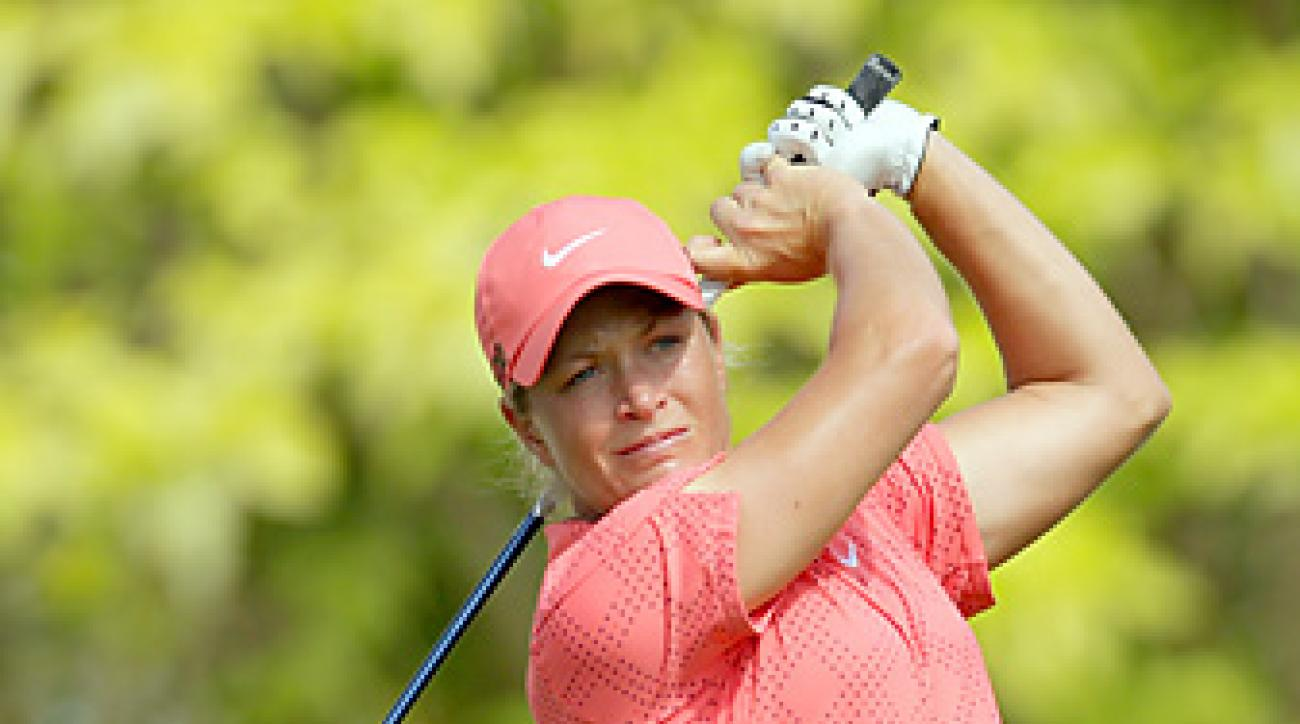 Suzann Pettersen is No. 2 in the world behind Yani Tseng.