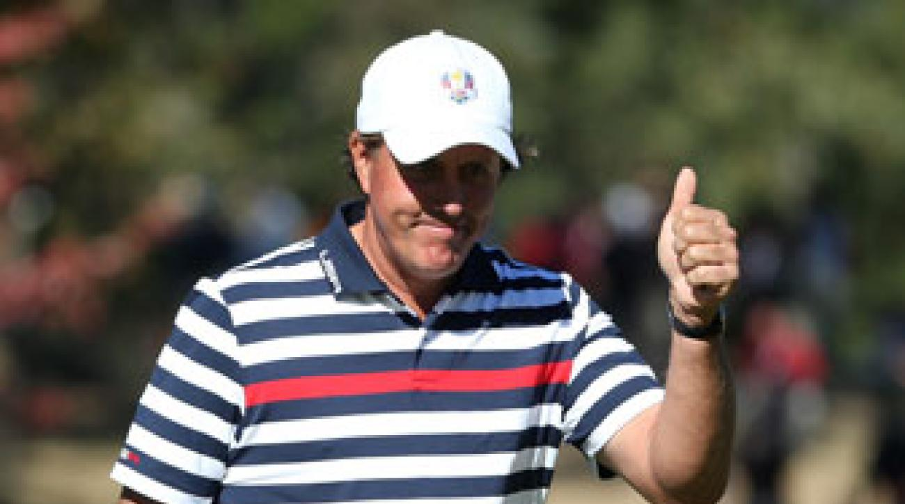 No one has played in more Ryder Cup matches for Team USA than Phil Mickelson.