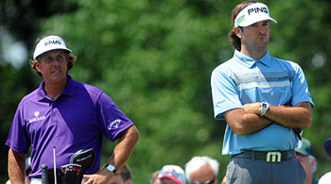 Mickelson and Bubba Watson both complained about cell phone use at Memorial after their round last Thursday.