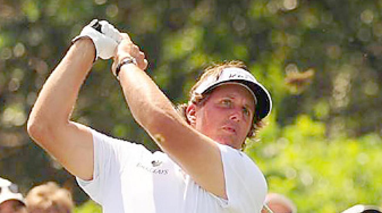 Phil Mickelson (10) joins Matt Kuchar (5) as the only players in the Byron Nelson field ranked in the top 10.