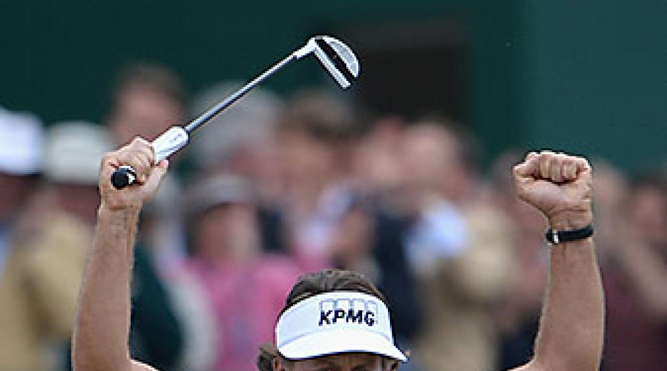 Mickelson won the 2013 Open Championship at Muirfield, adding a claret jug to his other four major championships.