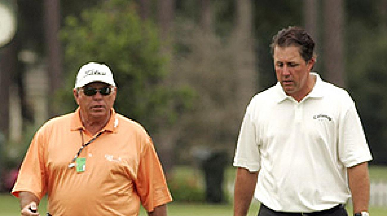 According to Johnny Miller, Butch Harmon is just what Phil Mickelson needs.