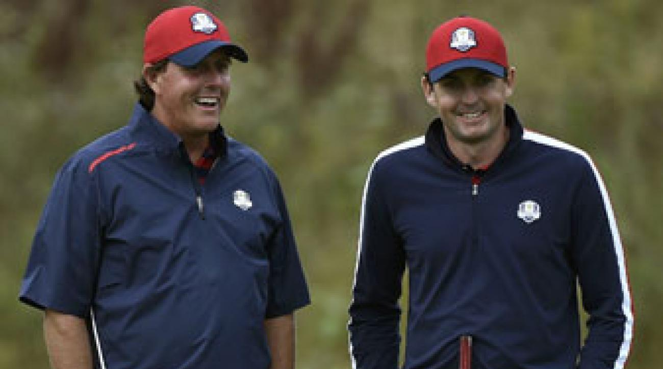 Phil Mickelson and Keegan Bradley's extra week of rest could be a factor in the 2014 Ryder Cup.