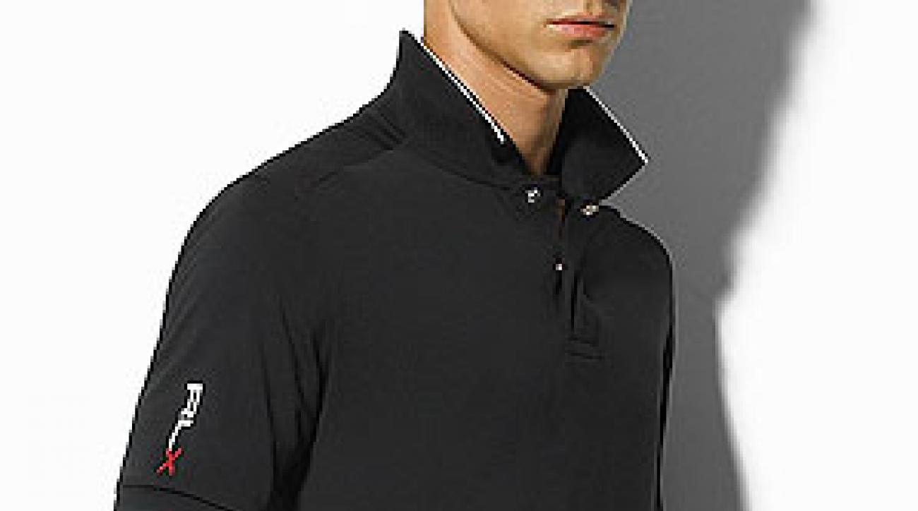 Coolblack is incorporated into the Polo RLX Unite shirt ($95).