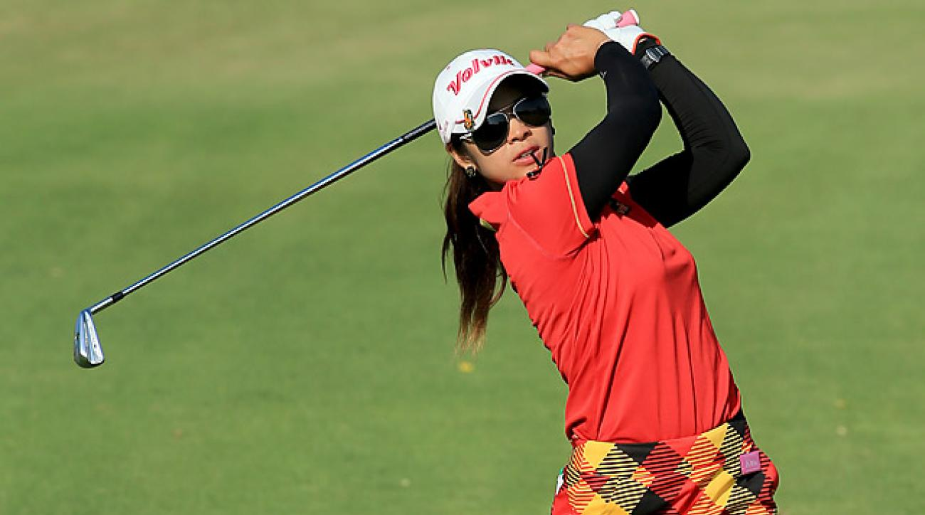 The 24-year-old Pornanong Phatlum of Thailand finished 23rd on the LPGA Tour money list in 2013.