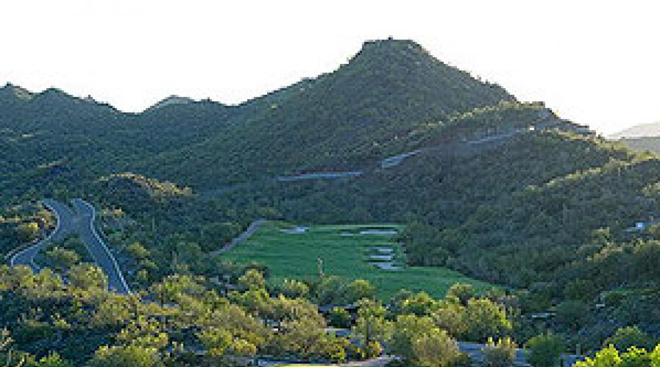 The ninth and 17th at Quintero Golf and Country Club