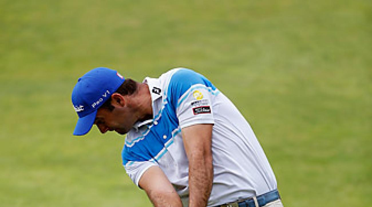 Ricardo Santos was the 2012 European Tour Rookie of the Year.