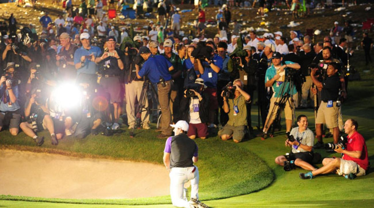 The PGA Championship avoided a Monday conclusion - barely.