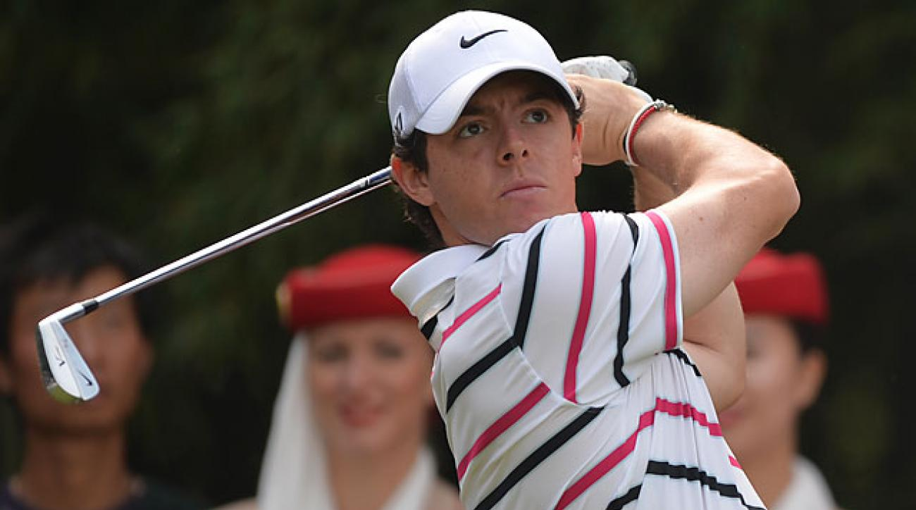 With a strong finish in the Korea Open, a victory over Tiger Woods in an exhibition match at Mission Hills and an early lead at the HSBC Champions, McIlroy is putting some distance between himself and a forgettable 2013 season.