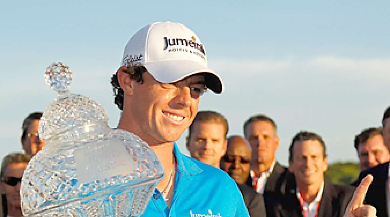 Rory McIlroy rose to No. 1 in the world with his win at the Honda Classic.