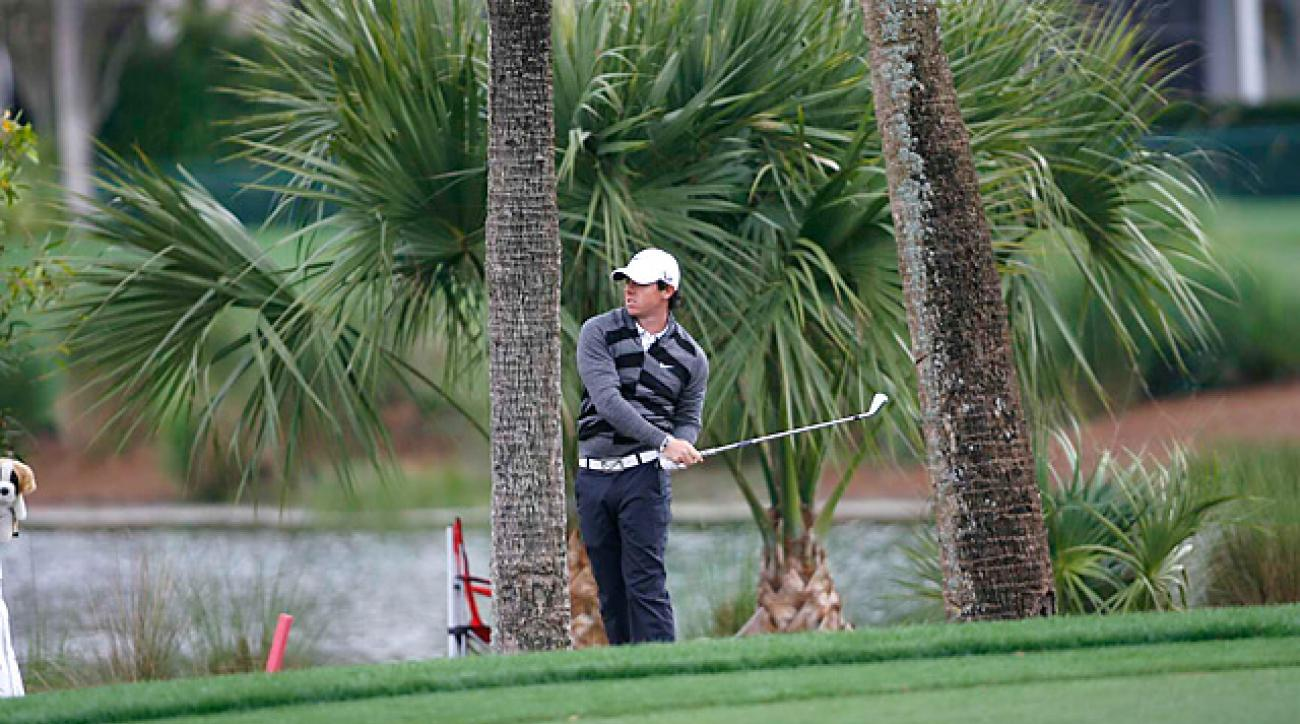 Rory McIlroy withdrew from the Honda Classic after completing eight holes in his second round.