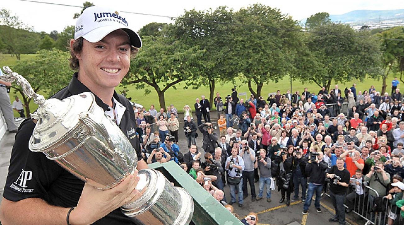 When McIlroy returned to Holywood with his U.S. Open spoils, he was greeted warmly.