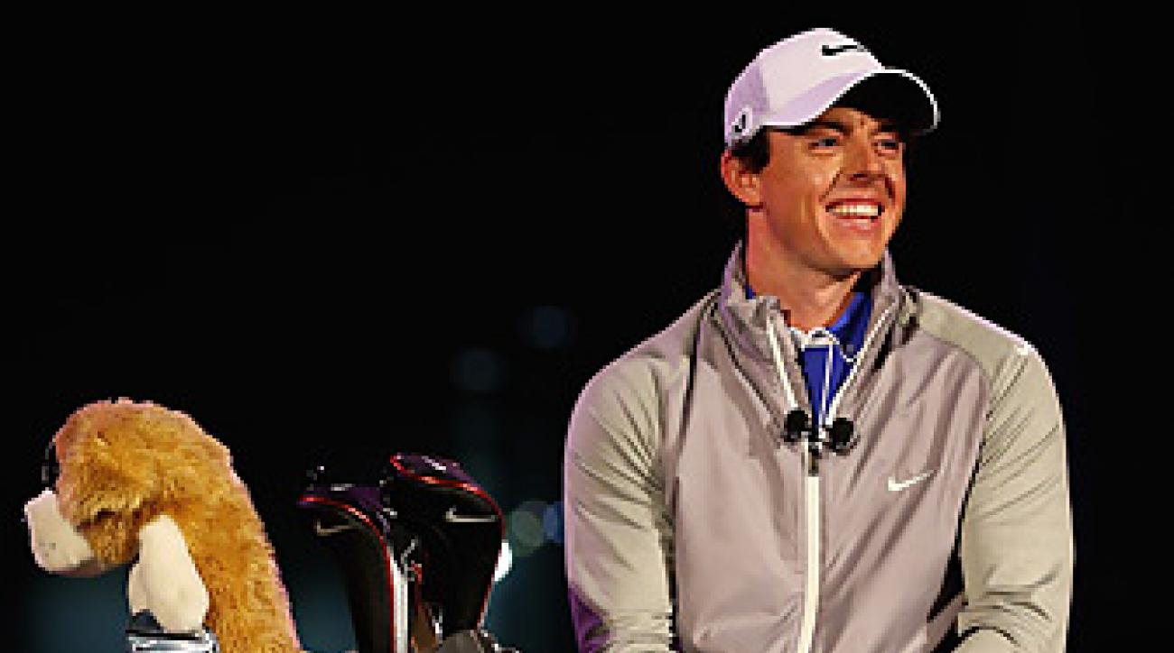 Rory McIlroy will play Nike clubs beginning this week in Abu Dhabi.
