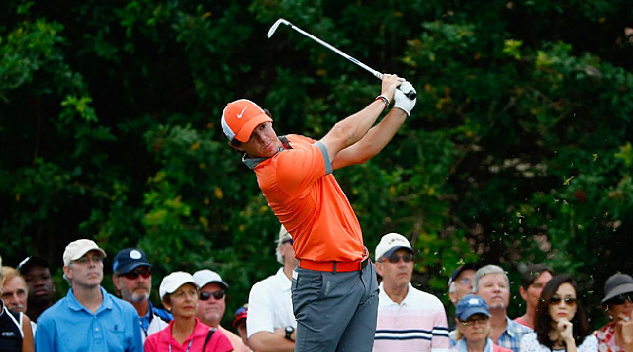McIlroy's 63 was good enough for a one-shot lead over Russell Henley.