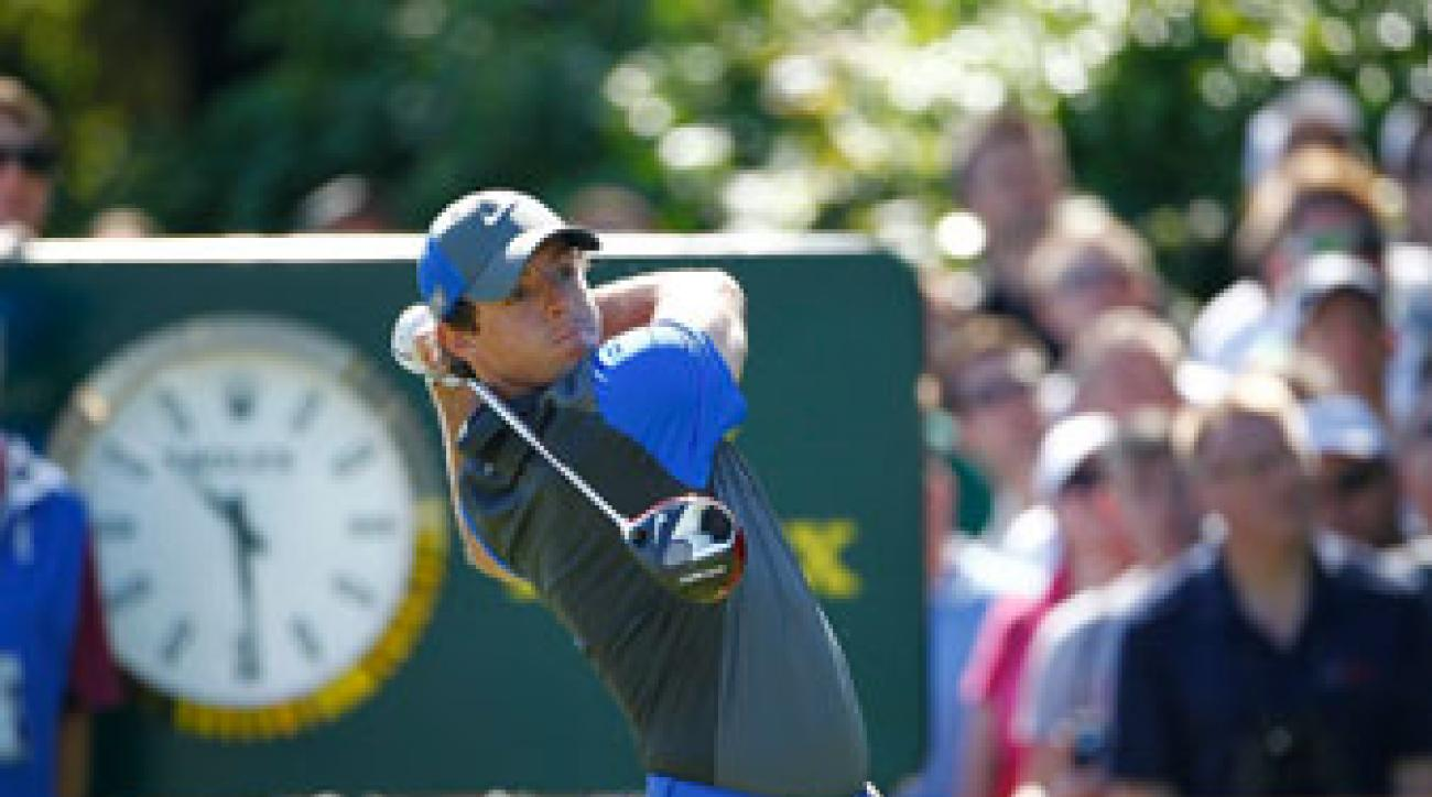 Rory McIlroy's first round included six birdies and no bogies.