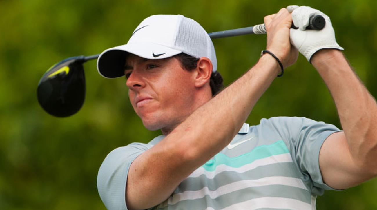 Rory McIlroy hasn't played a competitive round since the PGA Grand Slam of Golf in Bermuda in October.