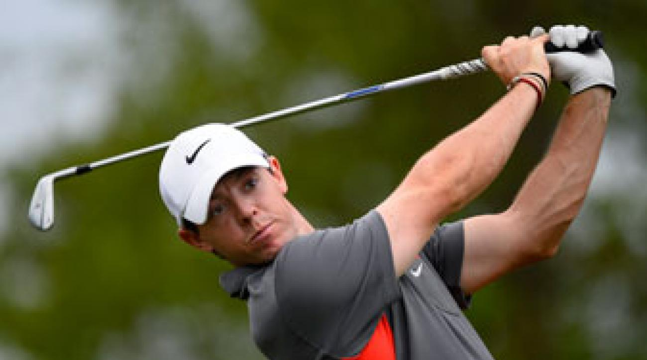 Rory McIlroy plays the pro-am Wednesday at the Shell Houston Open.