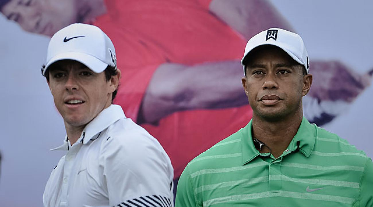 Rory McIlroy followed his breakout 2012 campaign with an abysmal 2013, though he managed to improve his head-to-head record against Tiger to 2-0.
