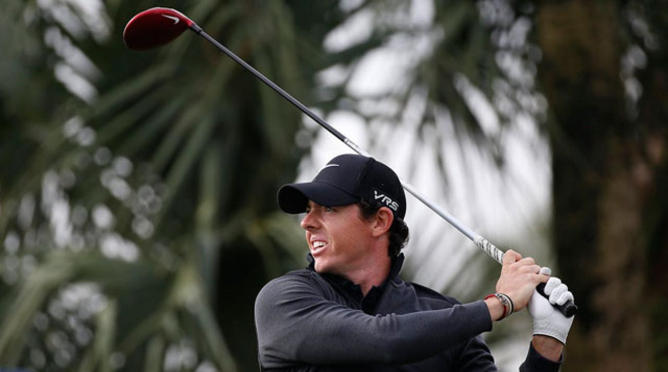 Rory McIlroy shot a second-round 66 to get to 11 under and lead by a shot after the second round of the Honda Classic.