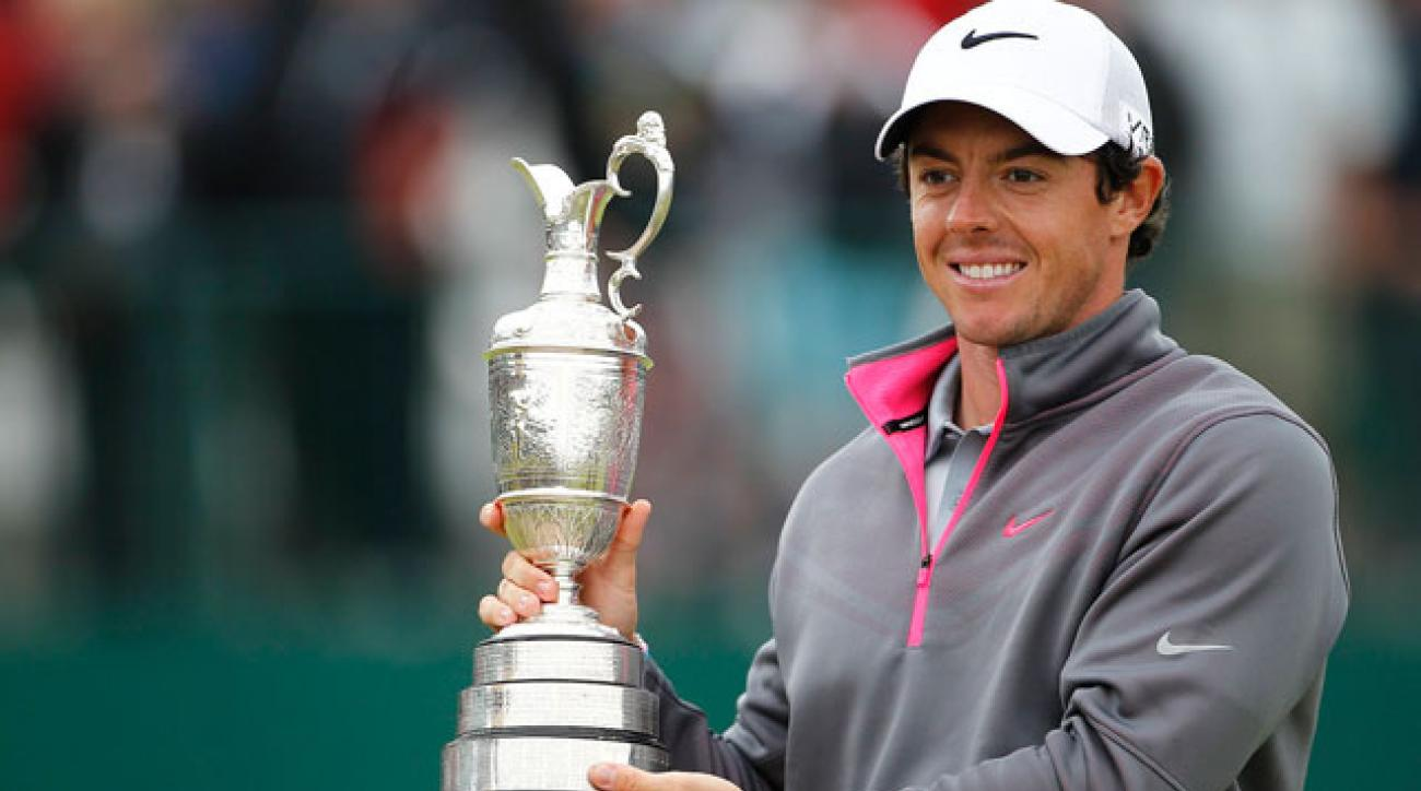 The ease of Rory McIlroy's victory at Royal Liverpool might have contributed to the ratings slide.