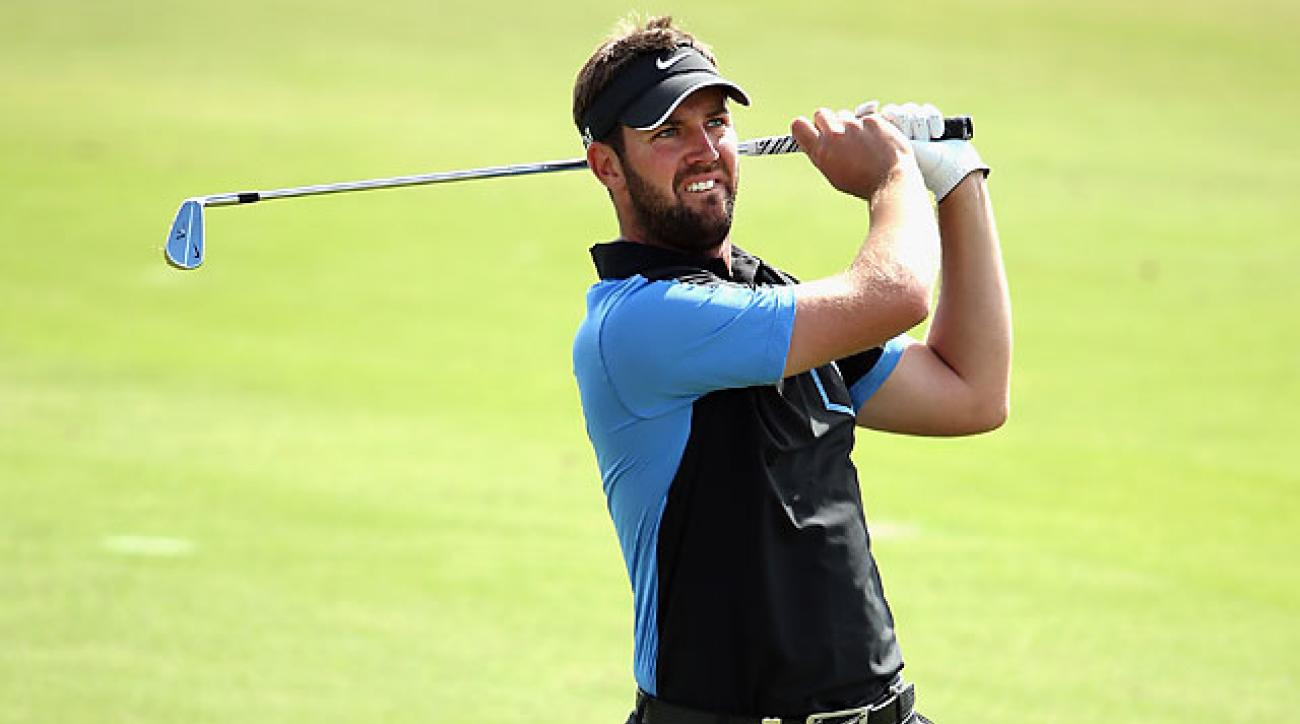 Scott Jamieson missed a birdie putt on the final hole that would have given him the record 59.