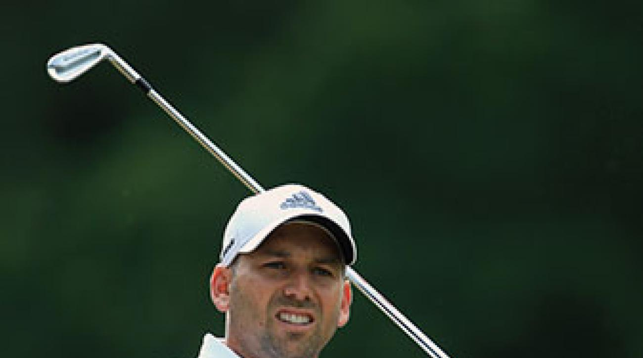 Sergio Garcia shot a 1-over 73 on Thursday.