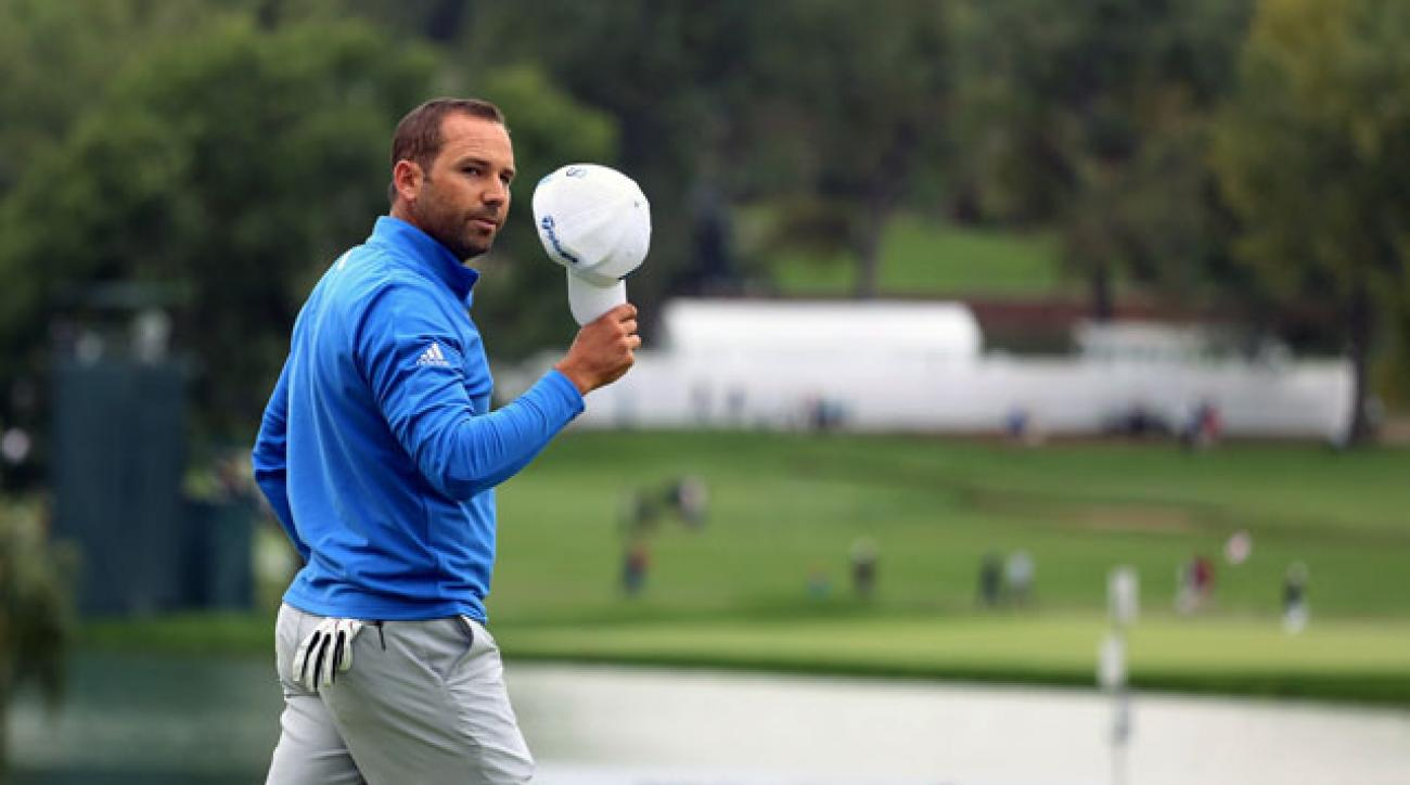Sergio Garcia leads the BMW Championship after firing a second-round 64.