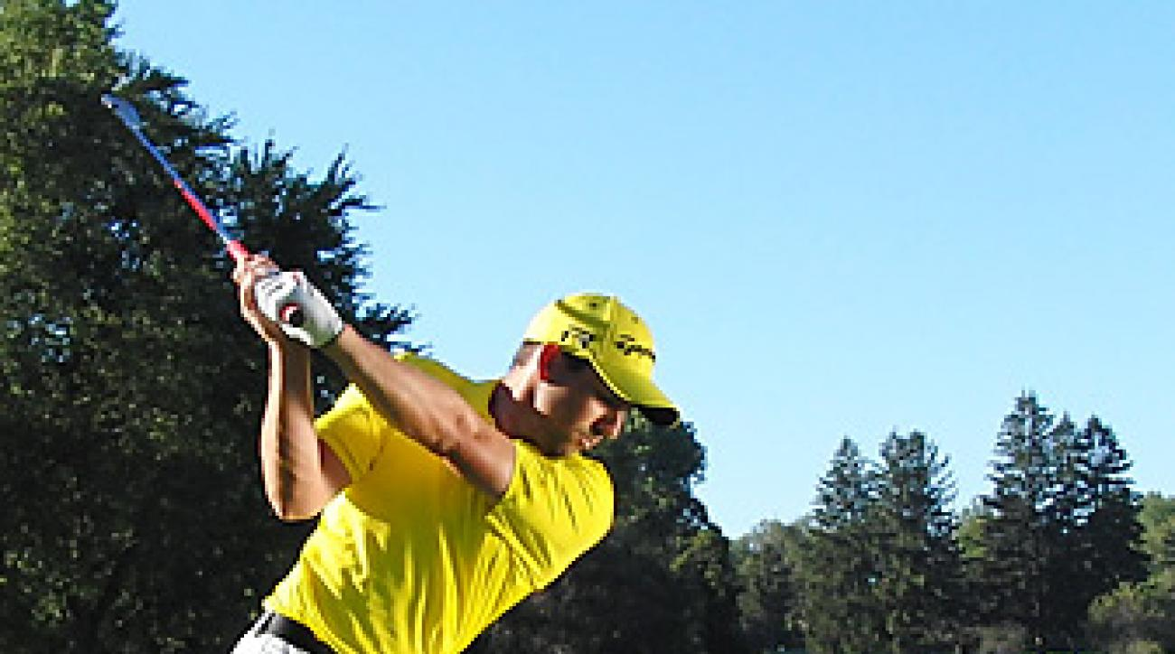 A stronger coil allows today's pros, like Sergio Garcia, to hit it big without swinging to parallel.