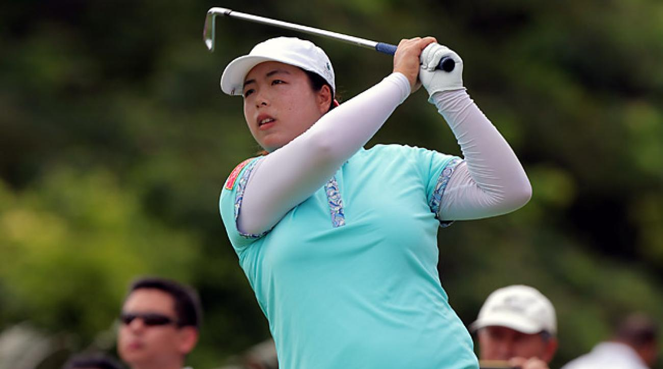 With the victory, Shanshan Feng jumped to No. 4 on the LPGA Tour money list.