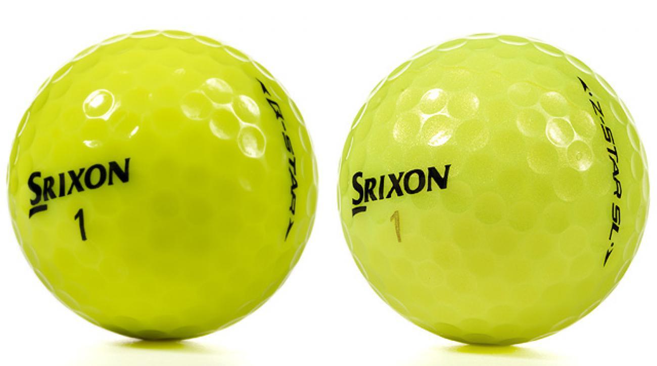 Srixon Z-Star SL Tour Yellow, Q-Star Tour Yellow