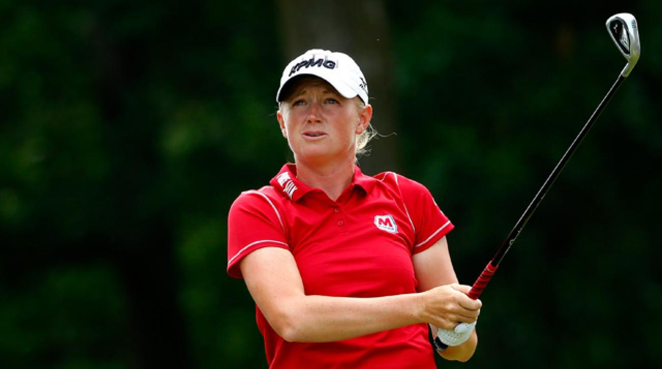 The victory was Stacy Lewis' third on the LPGA Tour this year.