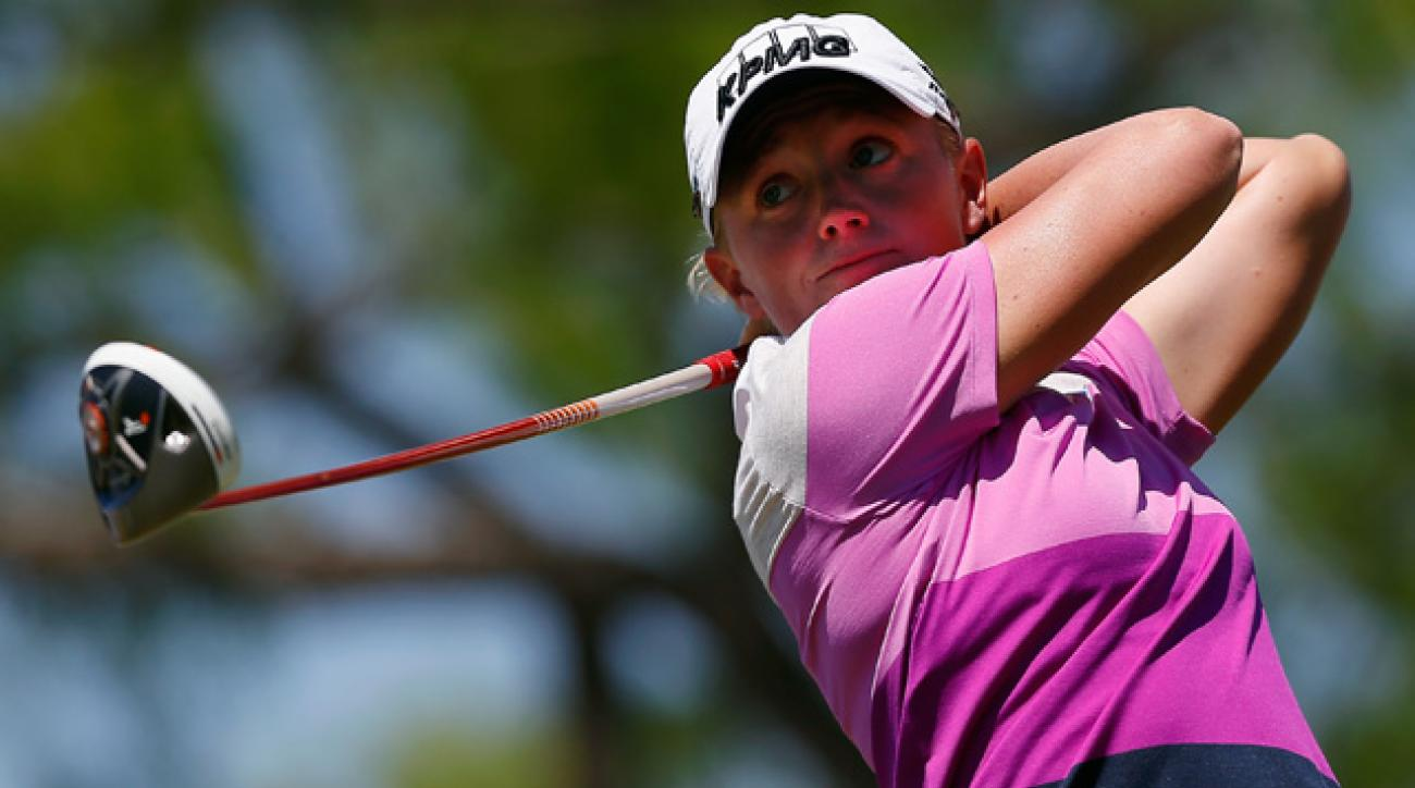 The KPMG-sponsored Stacy Lewis currently holds the No. 2 spot in the Women's World Golf Ranking.