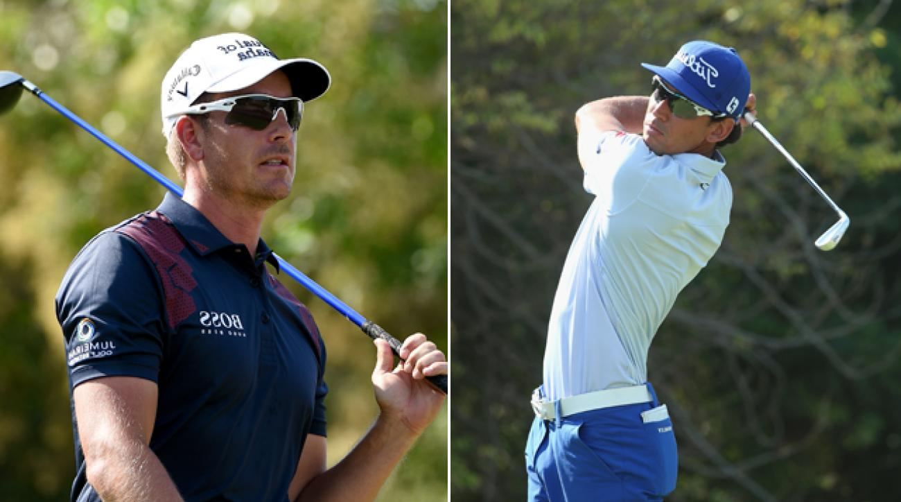 Henrik Stenson and Rafa Cabrera-Bello share the lead going into the final round of the 2014 DP World Tour Championship.
