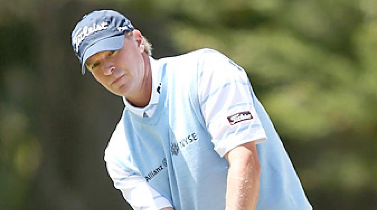Steve Stricker is seeking a fourth consecutive title at the John Deere this week.