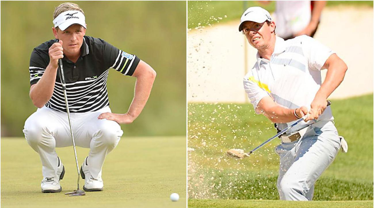 Luke Donald and Rory McIlroy enter the BMW Championship in the midst of disappointing seasons.