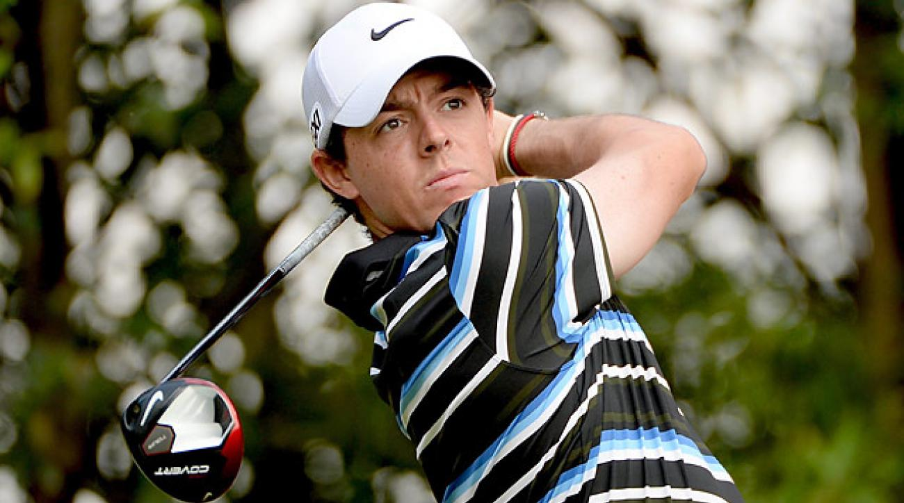 Rory McIlroy's 2013 season was a nightmare, but recently in China he has shown flashes of his 2012 form.