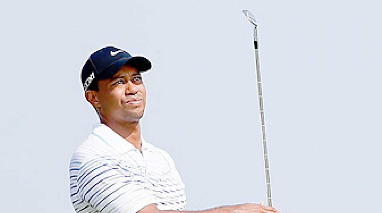 In his first event since finishing 11th at the PGA, Tiger Woods enters the Barclays as the third-ranked player in the world.