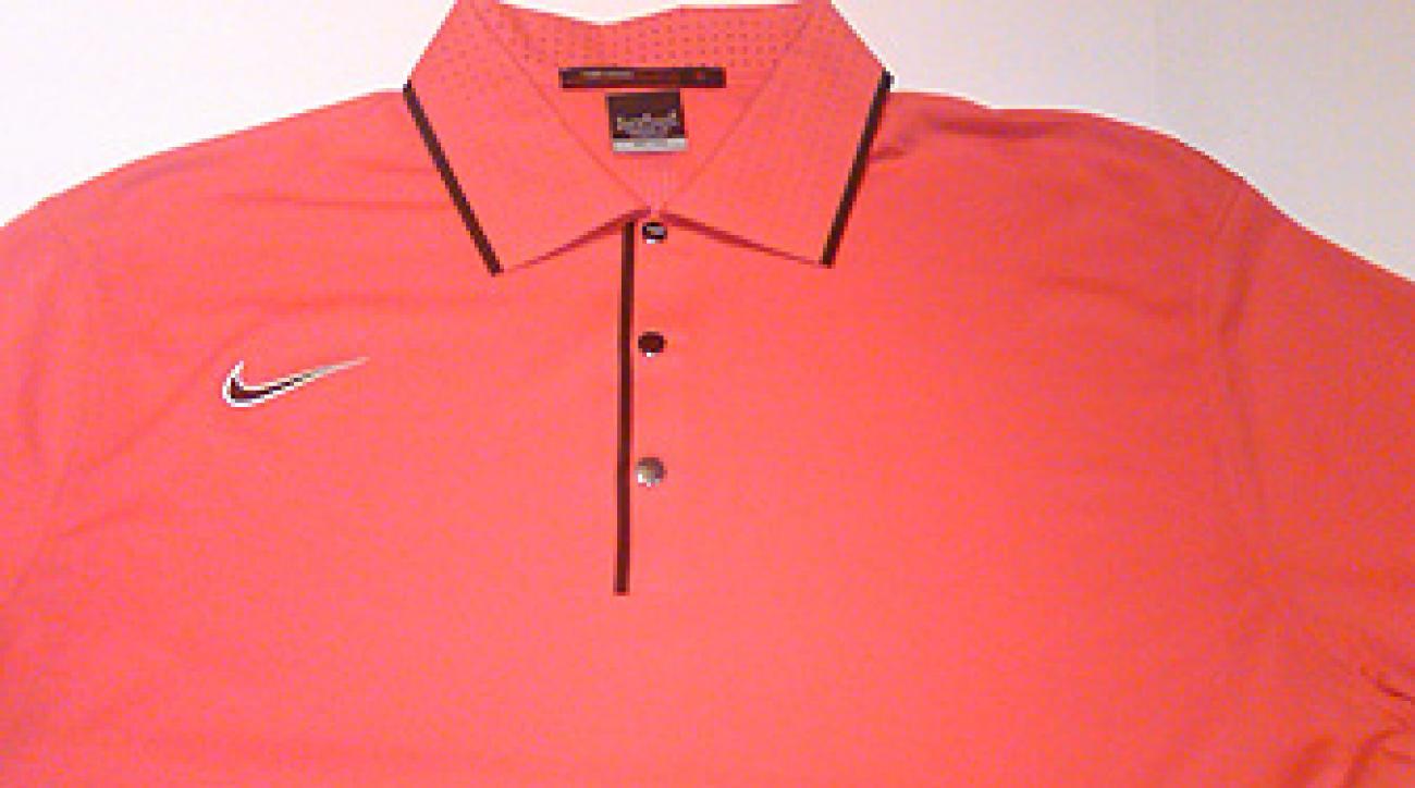 "Tiger's new ""Sunday shirt."""