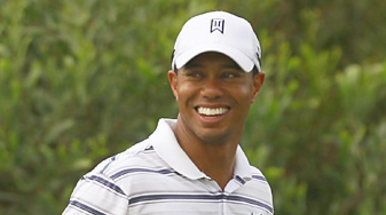 Tiger Woods hasn't won a professional event since 2009.