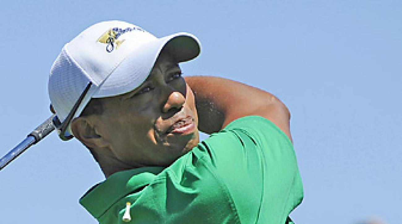 Tiger Woods is coming off a third-place finish at the Australian Open last week.