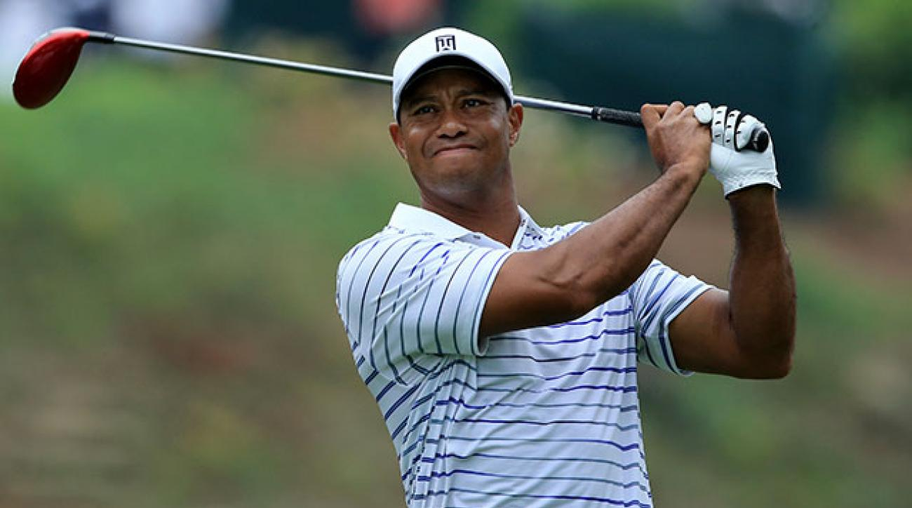 Tiger Woods missed the cut at the PGA Championship at Valhalla in August.