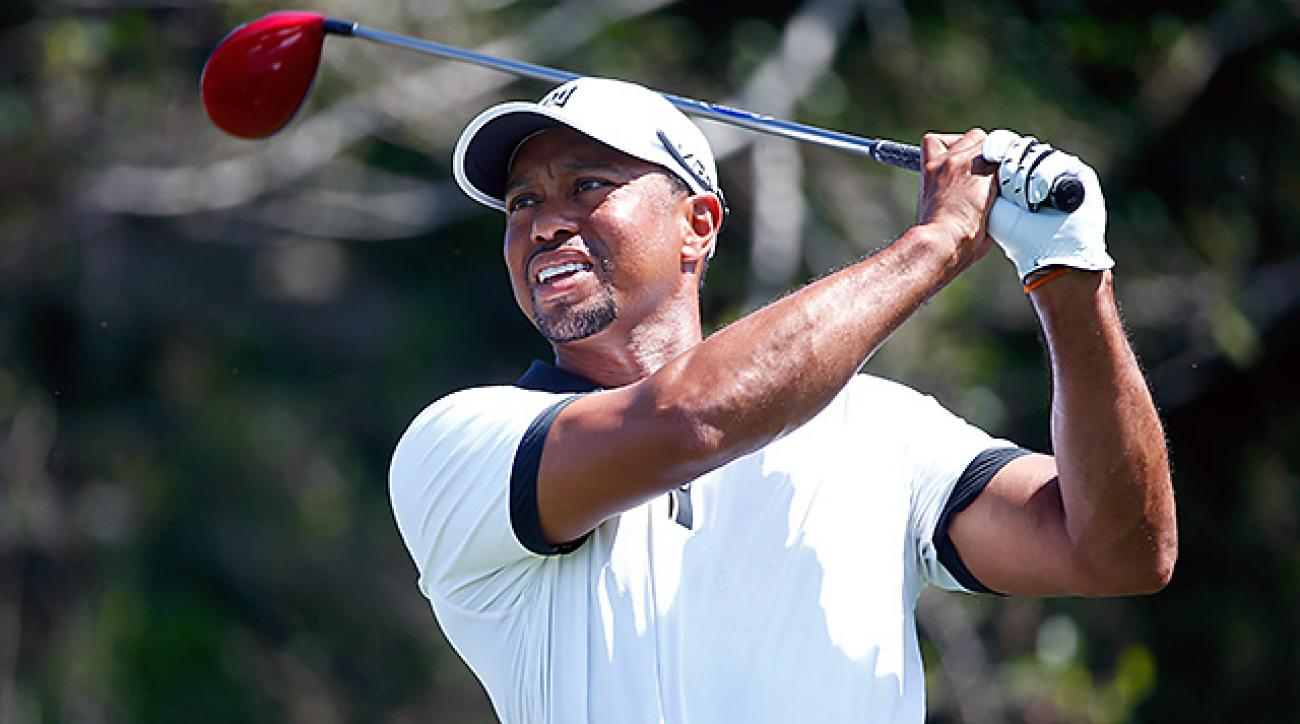 Tiger Woods missed the 54-hole cut in his only PGA Tour start this year.
