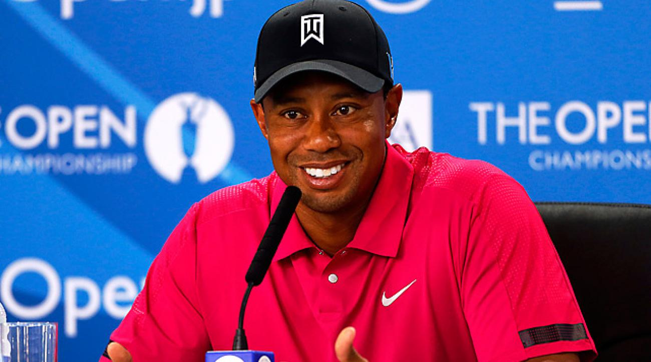 In the 2002 British Open at Muifield, Woods was caught in a third-round storm and shot 81. He says he's ready to deal with the unexpected again this week.