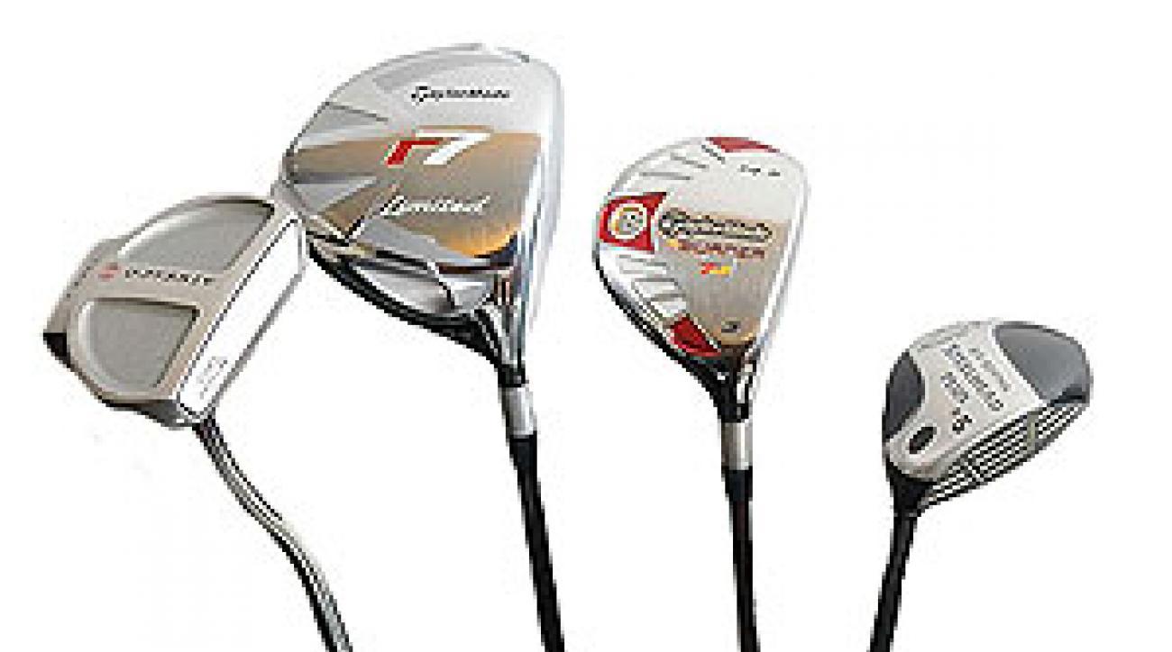 Tim Clark's golf clubs