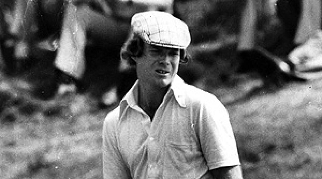 The image that captivated the author at age 15, Tom Watson at Carnoustie in 1975.