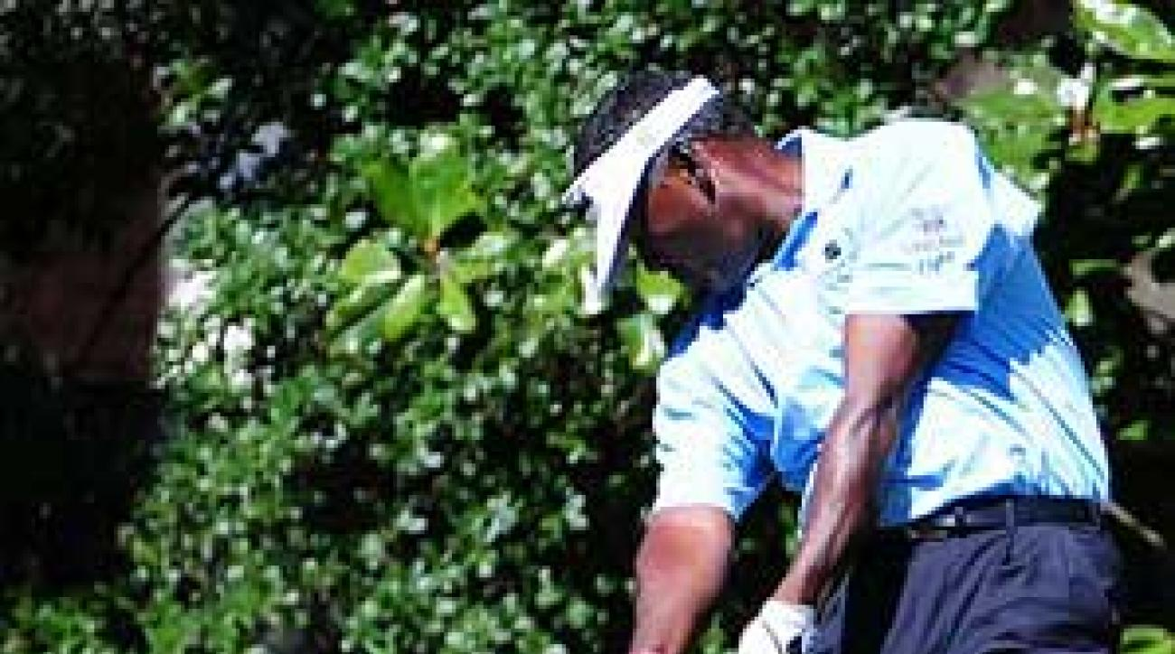 Over time, Vijay Singh and other big hitters will get reduced performance from their drivers.