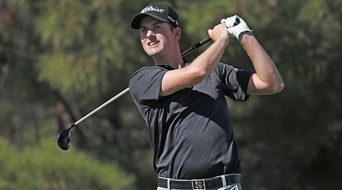 Simpson's victory is his fourth on the PGA Tour and his first since the 2012 U.S. Open at the Olympic Club.