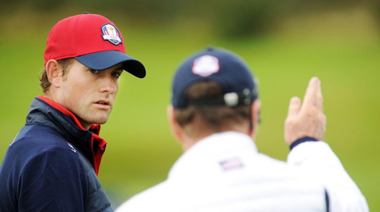 Webb Simpson was added to the U.S. Ryder Cup Team after a late-night plea to captain Tom Watson.