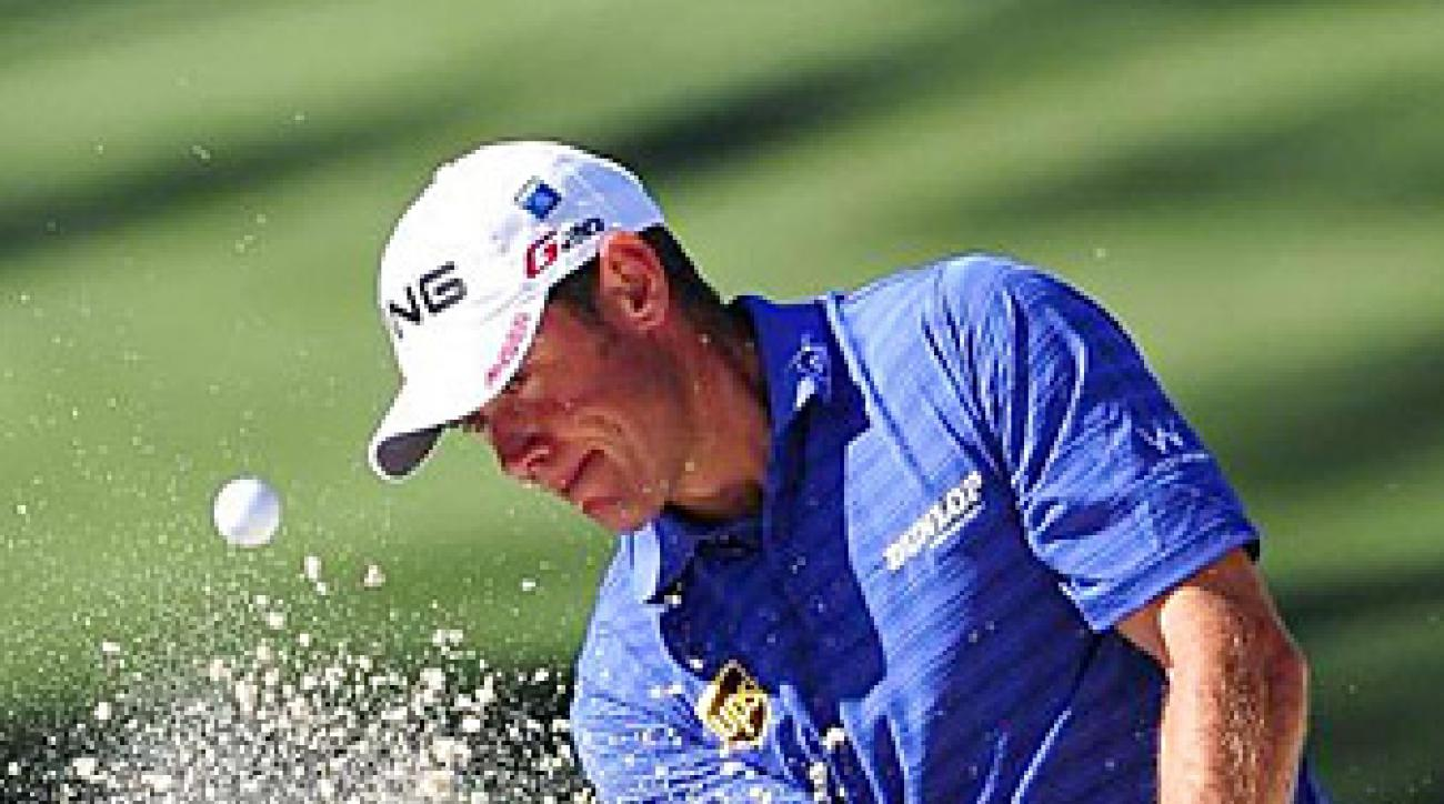 Lee Westwood shot a final-round 68 and finished two shots out of the playoff.